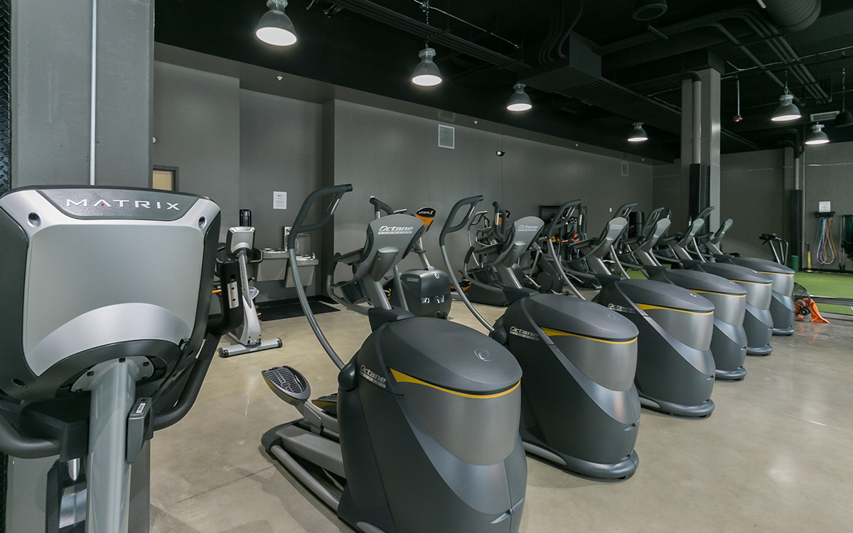 Commercial Fitness Facility Installation