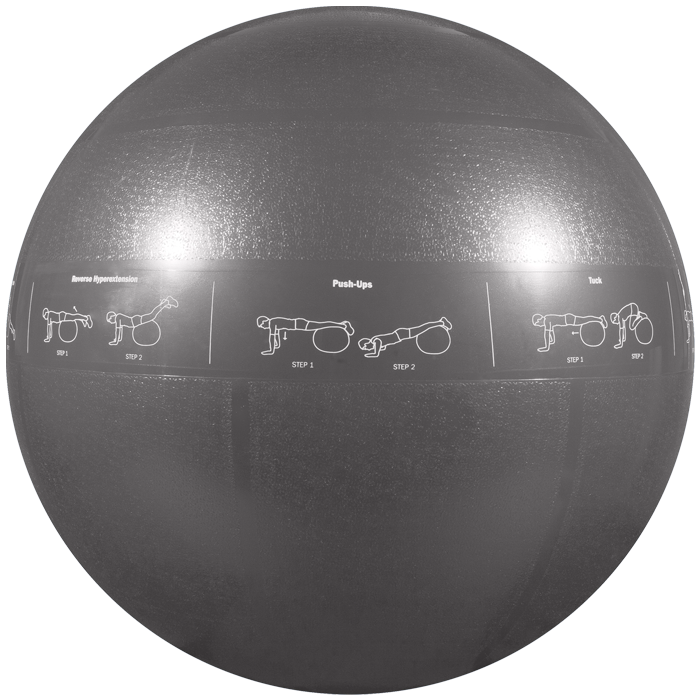 GoFit Professional Grade Stability Ball - 75 cm