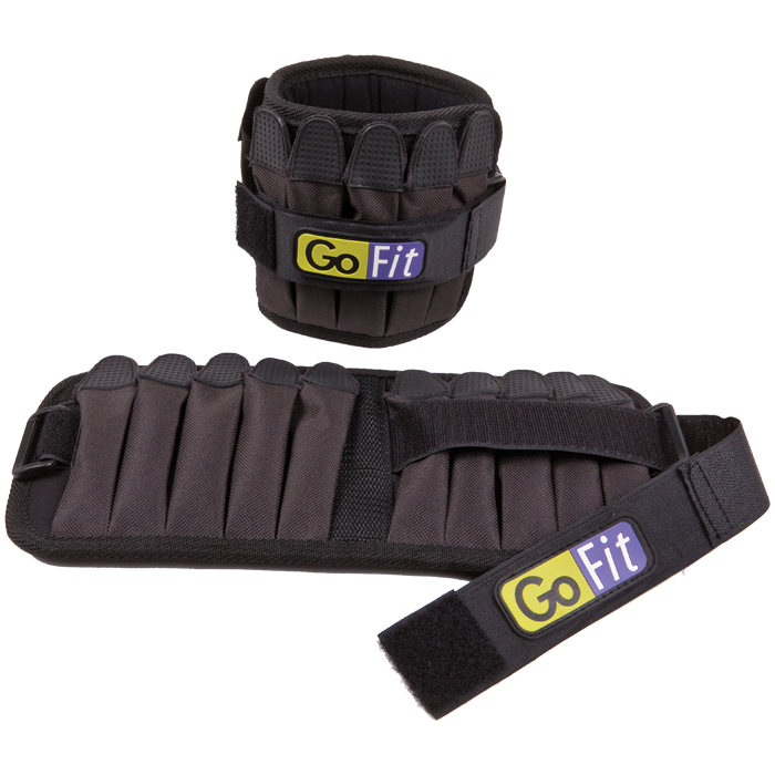 GoFit 10 lb Padded Pro Ankle Weights