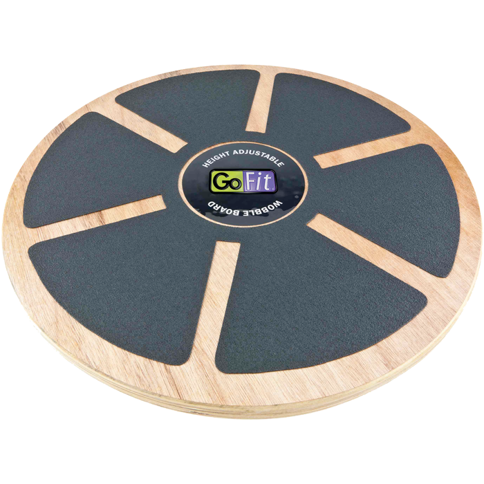 GoFit Wood Wobble Board