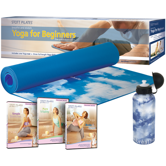 Stott Pilates Yoga for Beginners Workout Kit